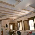techos vigas de madera vistas